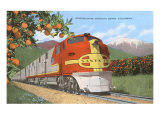 Streamlining through California, Oranges Art