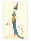 French Fashion, Greyhound Posters