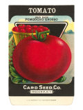 Tomato Seed Packet Posters