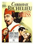 Cardinal Richelieu, George Arliss, Cesar Romero, Maureen O'sullivan, 1935 Posters