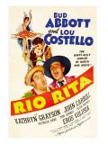 Rio Rita, Kathryn Grayson, John Carroll, Lou Costello, Bud Abbott, 1942 Photographie