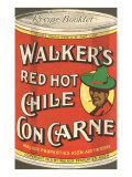 Can of Walker's Chile con Carne Posters