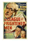 The League of Frightened Men, Walter Connolly, 1937 Prints