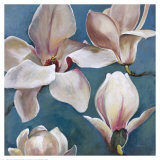 New Magnolias II Art by  Georgie