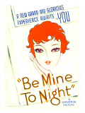 Be Mine Tonight (Aka Tell Me Tonight), Midget Window Card, 1932 Photo
