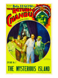 The Return of Chandu, 1934 Poster
