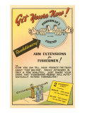 Fisherman's Arm Extensions Posters