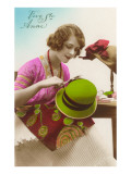 Vive Ste. Anne, Milliner, French Fashion Posters