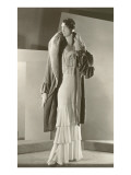 Twenties Mannequin in Evening Wear Láminas