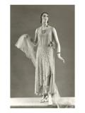 Twenties Mannequin in Evening Gown Prints