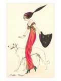 French Fashion, Borzoi Prints