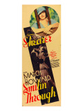 Smilin' Through, Norma Shearer, Fredric March, Norma Shearer on Insert Poster, 1932 Prints
