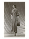 Twenties Mannequin with Purse Posters
