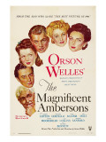 The Magnificent Ambersons, Agnes Moorehead, Dolores Costello, 1942 Affiches