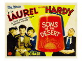 Sons of the Desert, Mae Busch, Stan Laurel, Dorothy Christy, Oliver Hardy, 1933 Affiches
