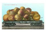 Giant California Plums on Flatbed Prints