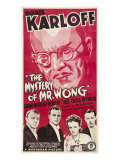 The Mystery of Mr. Wong, Boris Karloff, Holmes Herbert, Craig Reynolds, 1939 Posters