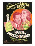 Wife, Doctor and Nurse, Virginia Bruce, Warner Baxter, Loretta Young, 1937 Prints