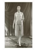 Twenties Mannequin in Flapper Dress Poster