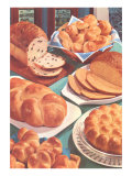 Rolls and Breads Poster