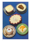 Five Desserts Poster