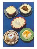 Five Desserts Print