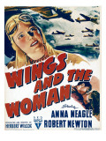 Wings and the Woman, 1942 Posters