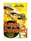 Range Defenders, Bob Livingston, Ray Corrigan, Max Terhune, 1937 Posters