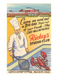 Rickey's Studio Club, Lobster, Palo Alto, California Prints