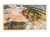 Landing Giant Fish Poster