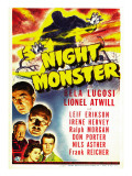 Night Monster, 1942 Poster