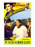 Mystery Mountain, 1934 Psters
