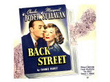 Back Street, Charles Boyer, Margaret Sullavan on Jumbo Window Card, 1941 Prints
