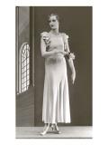 Twenties Mannequin in Long Dress Posters
