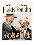 Fools for Luck, W.C. Fields, Chester Conklin, 1928 Poster