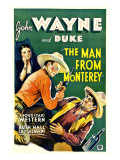 The Man from Monterey, Ruth Hall, John Wayne, Luis Alberni, 1933 Prints