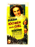 One Hundred Men and a Girl, Deanna Durbin, 1937 Photo