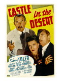 Castle in the Desert, Sidney Toler, Arleen Whelan, Douglass Dumbrille, 1942 Prints
