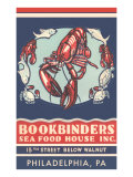 Lobsters Advertisement Plakat