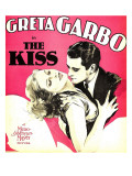 The Kiss, Greta Garbo, Lew Ayres on Window Card, 1929 Photo