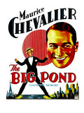 The Big Pond, Maurice Chevalier on Window Card, 1930 Prints