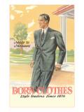 Born Clothes, Man in Suit Prints