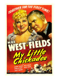 My Little Chickadee, Mae West, W.C. Fields, 1940 Prints
