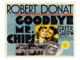 Goodbye, Mr. Chips, Greer Garson, Robert Donat, 1939 Prints