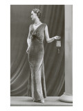 Twenties Mannequin in Velvet Dress Posters