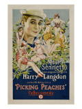 Picking Peaches, Harry Langdon with the 1924 Bathing Girls, 1924 Photo