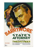 State's Attorney, Helen Twelvetrees, John Barrymore, 1932 Posters