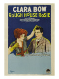 Rough House Rosie, Clara Bow, Reed Howes, 1927 Poster