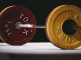 Weightlifting Equipment Lámina fotográfica por Paul Sutton
