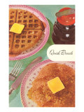 Waffles and Pancakes Posters